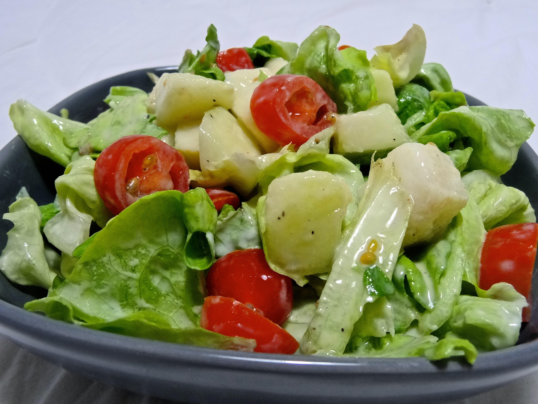 recette de salade aux poires ch vre et noix dine move blog sport cuisine healthy. Black Bedroom Furniture Sets. Home Design Ideas
