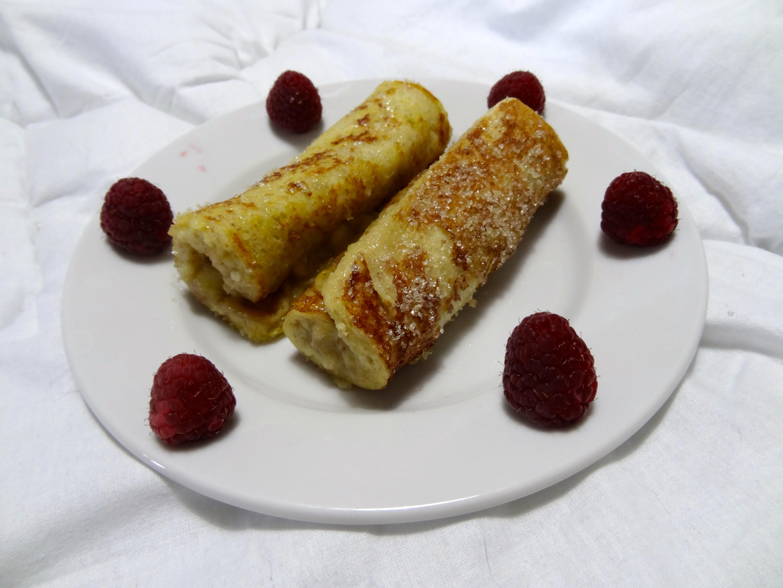 Recette De Pain Perdu Roule A La Banane Dine Move Blog Sport
