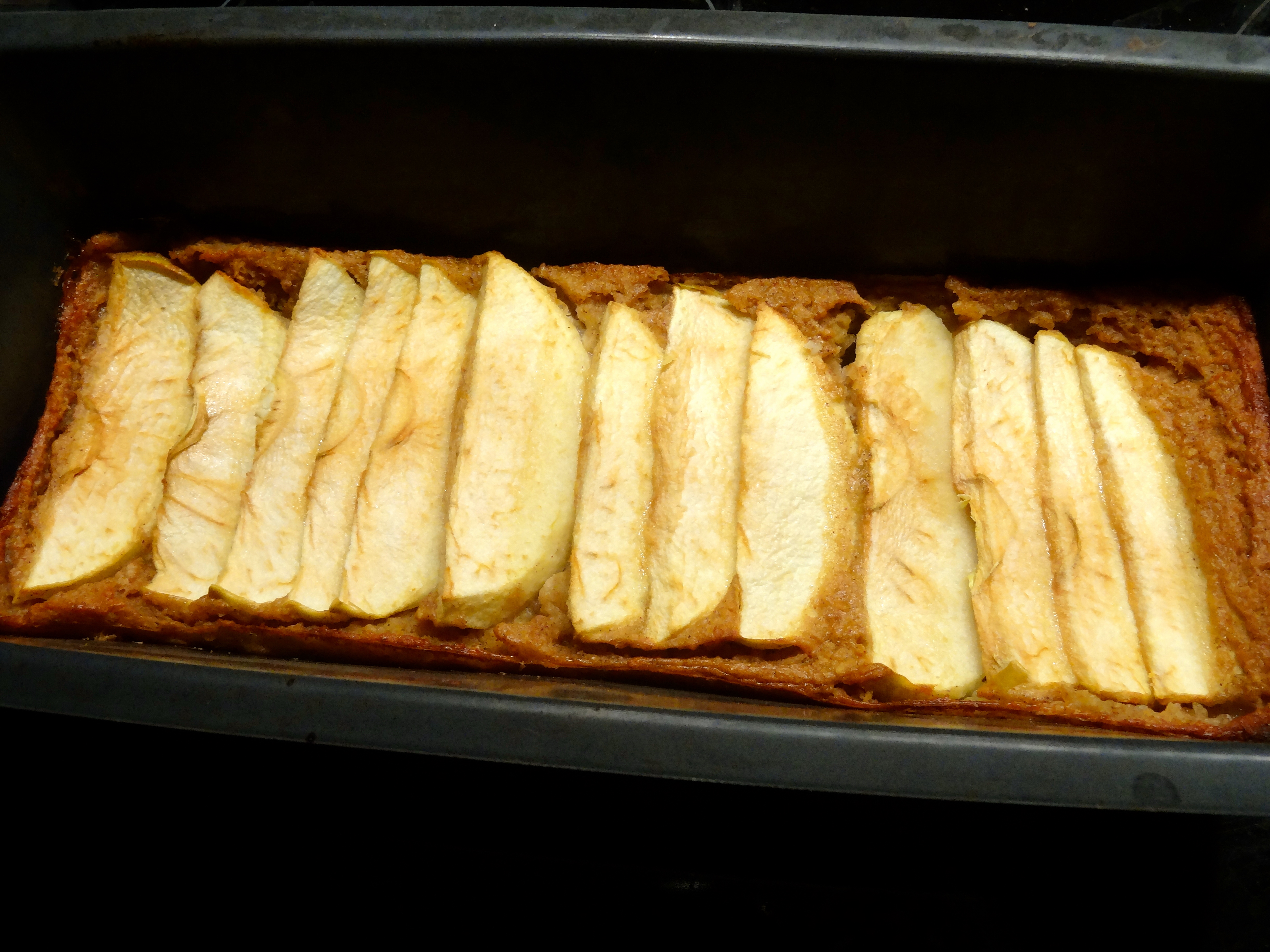 Cake pommes cannelle