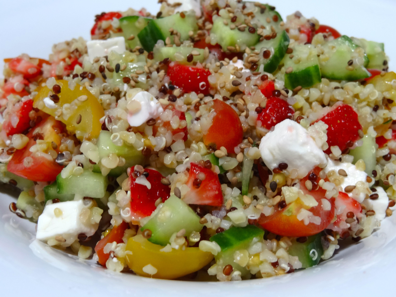 Taboulé frais au quinoa