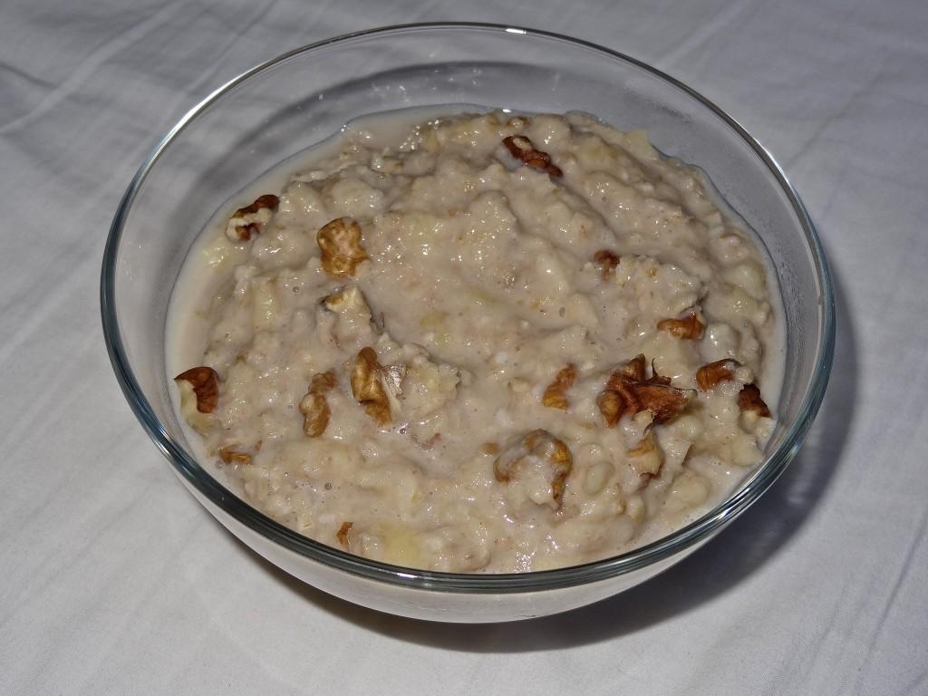 Porridge noix coco