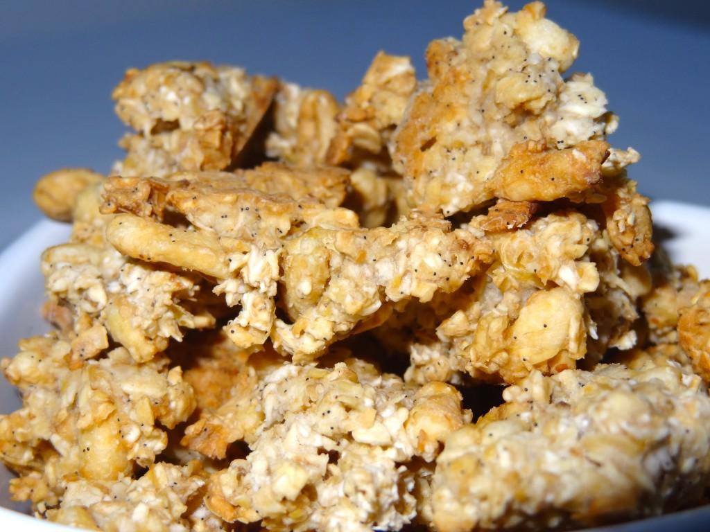 Granola à la vanille