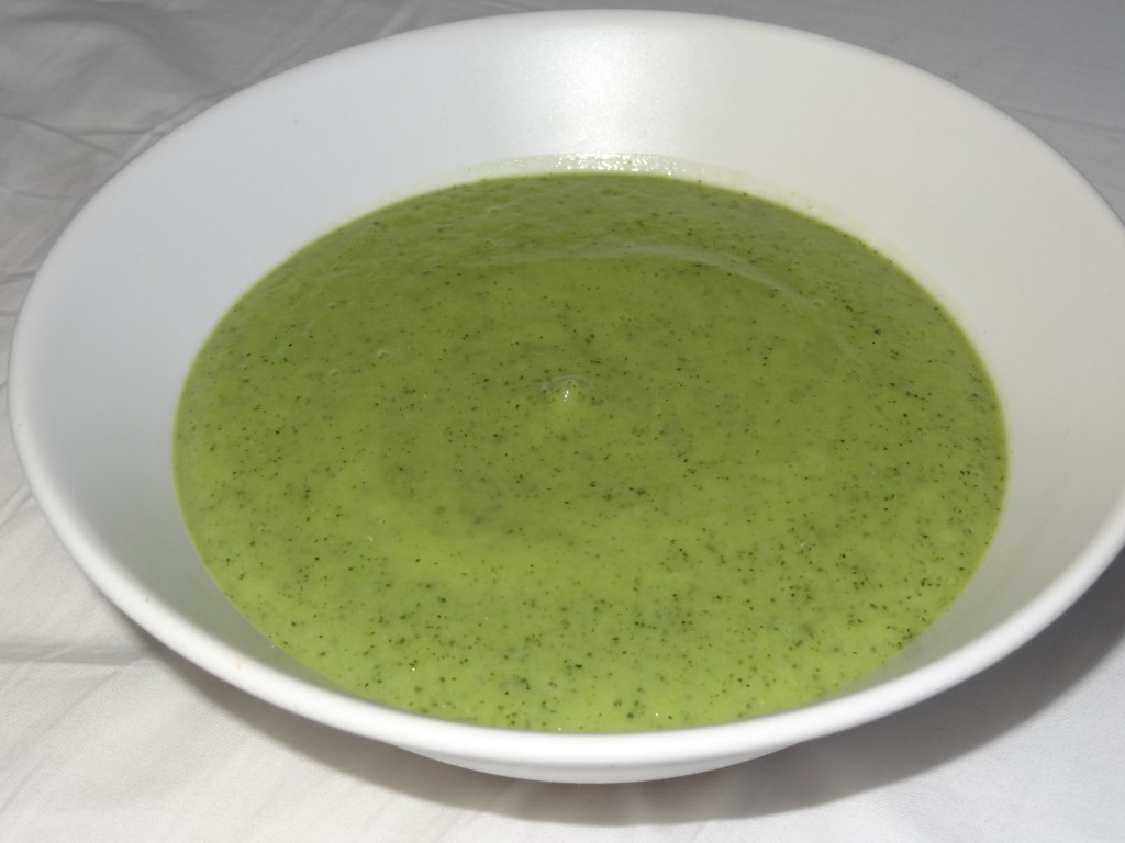 Soupe courgette moutarde