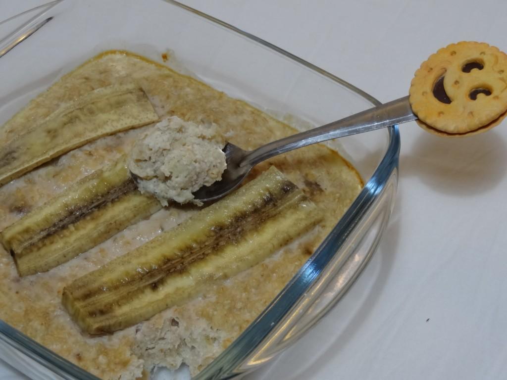 Gâteau d'avoine à la banane