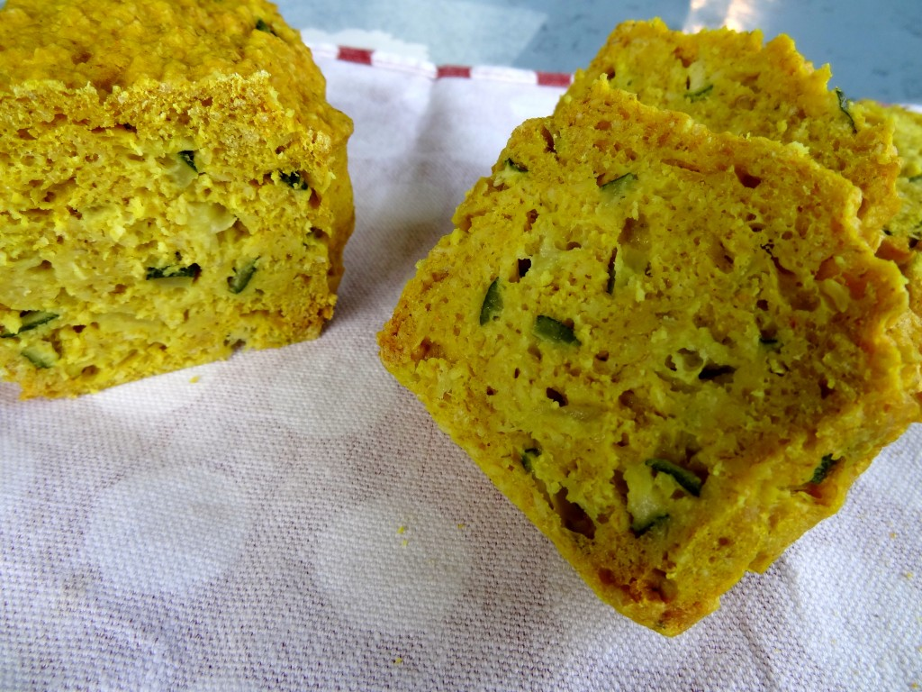 Cake courgettes moutarde
