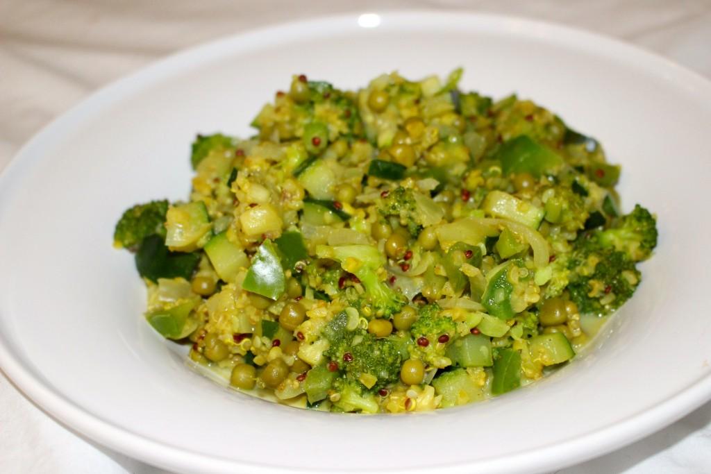 quinoa façon risotto primavera