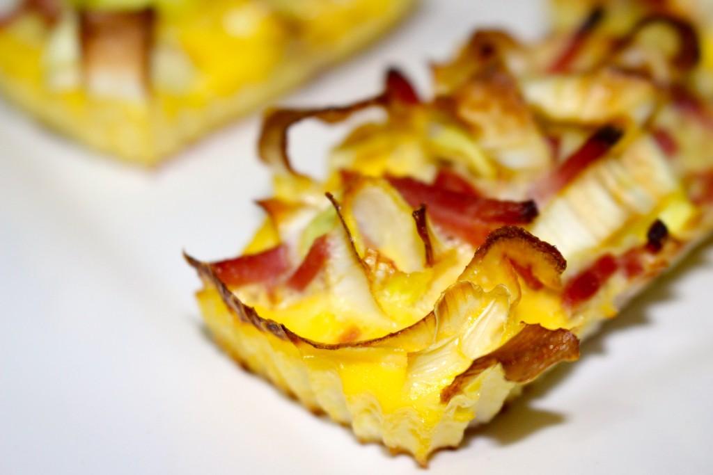 Muffins poireaux bacon