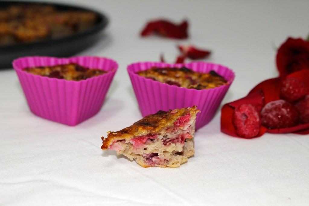 Muffins framboises mascarpone