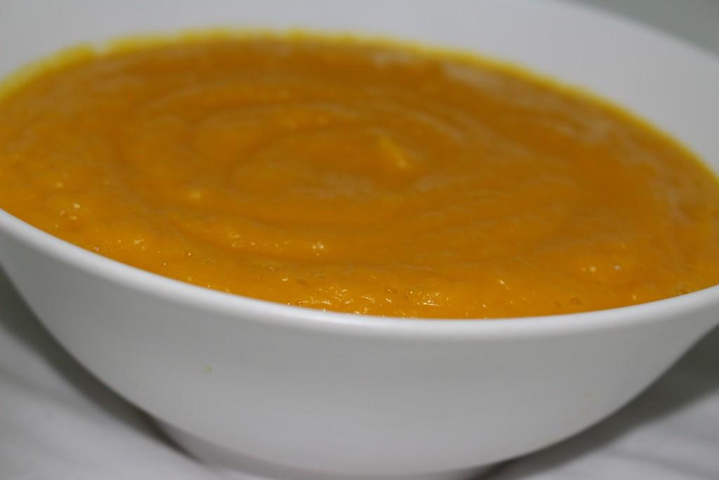 Velouté à la carotte
