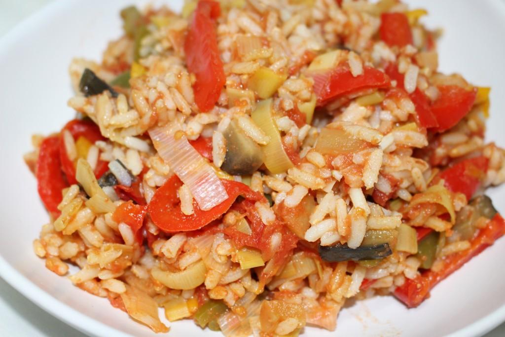 Ratatouille au riz