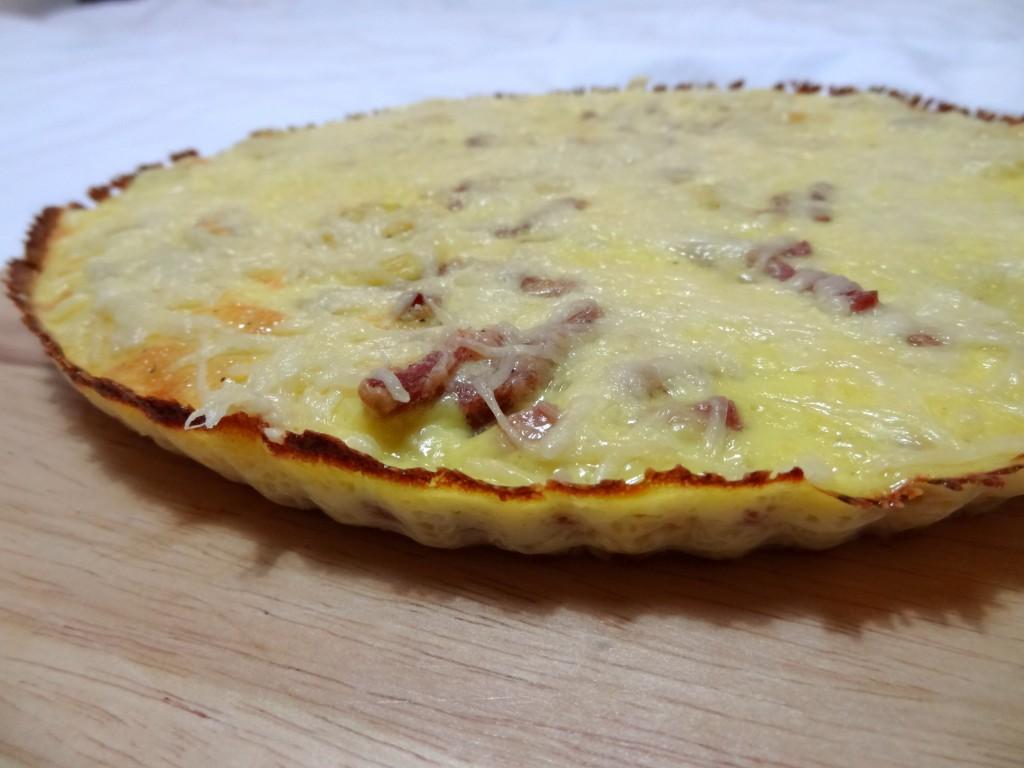 Recette de frittata quiche lorraine | Dine&Move