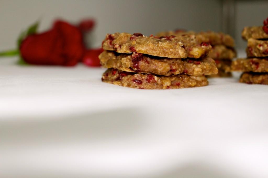 Cookies healthy à la framboise