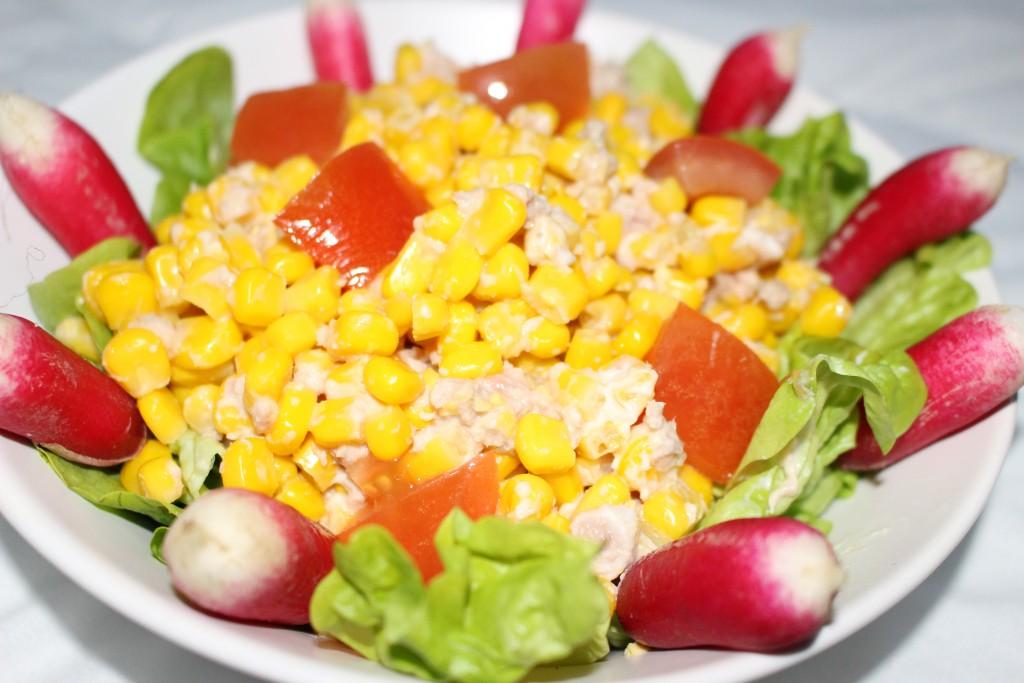 recette de salade de ma s au thon dine move blog sport cuisine healthy. Black Bedroom Furniture Sets. Home Design Ideas