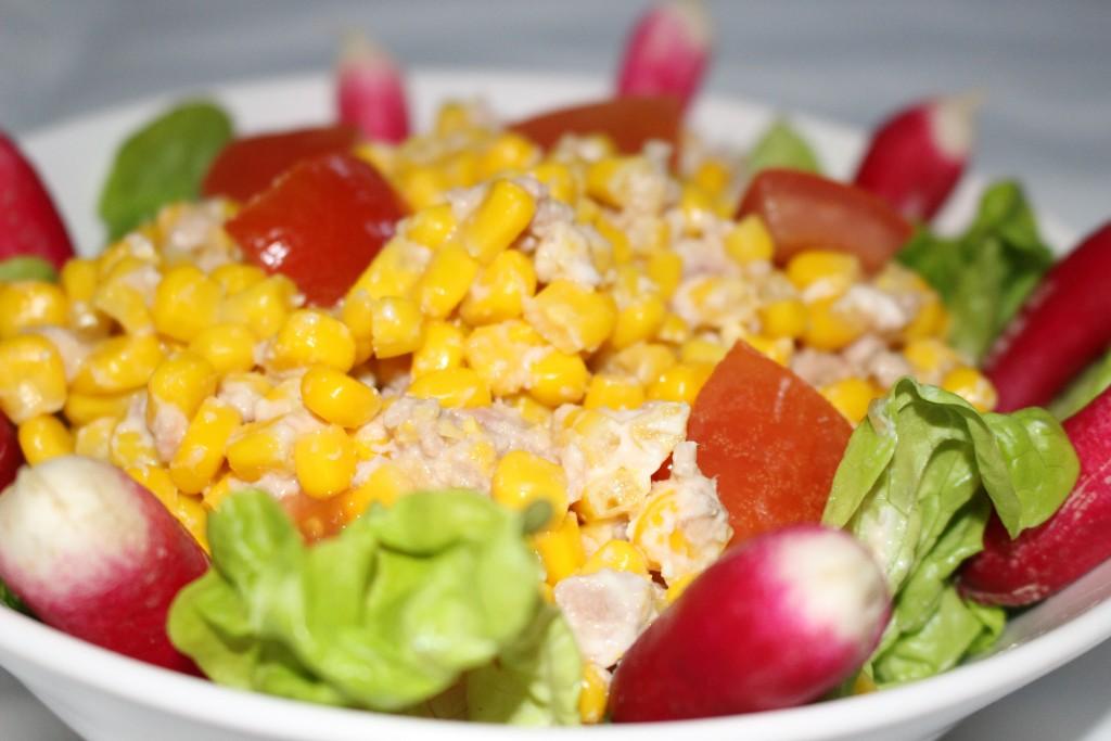 Salade de maïs au thon
