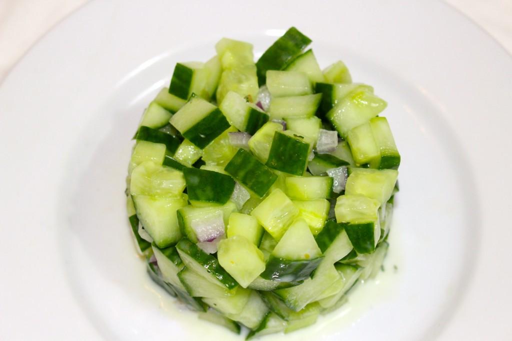Tartare de concombre