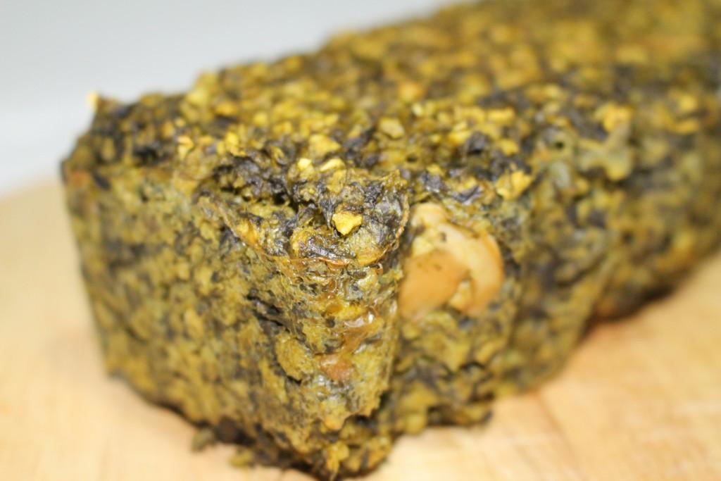 Cake épinards champignons