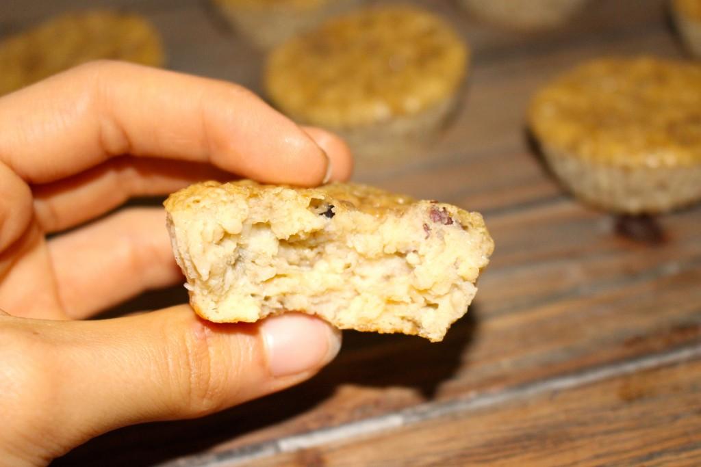 Muffins au beurre de cacahuètes et aux noisettes