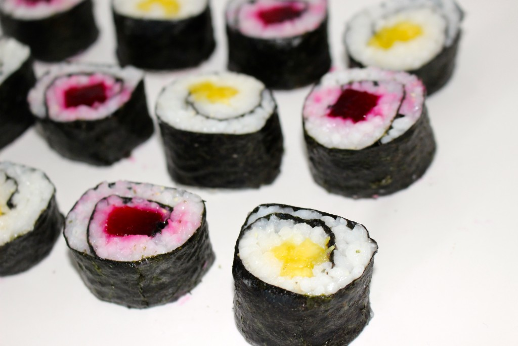 Makis à la betterave