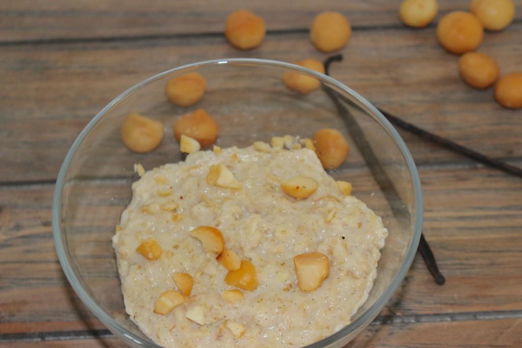 Vanille et noix de macadamia