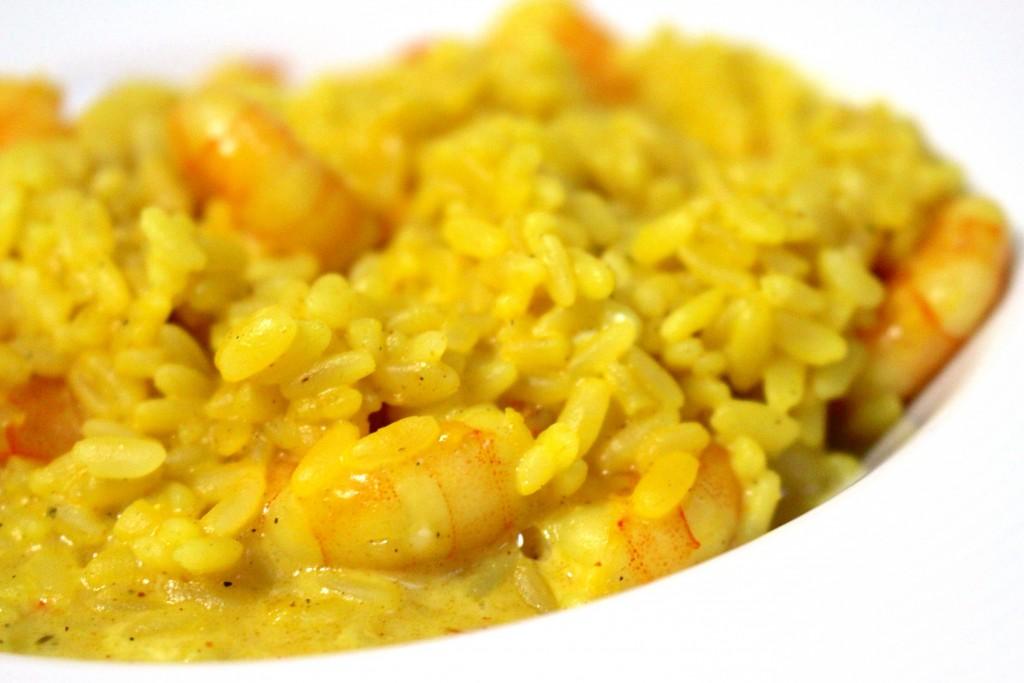 recette de risotto crevettes au curry dine move blog sport cuisine healthy. Black Bedroom Furniture Sets. Home Design Ideas