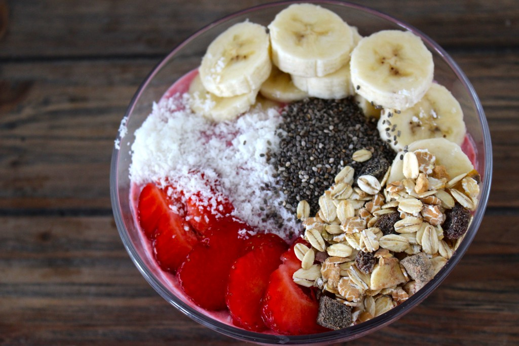Smoothie bowl Weight Watchers