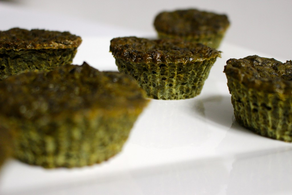 Muffins chèvre / épinards