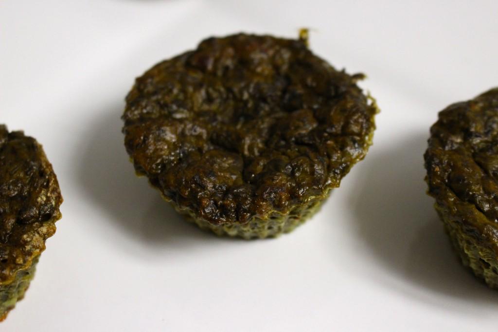 Muffins salés aux épinards