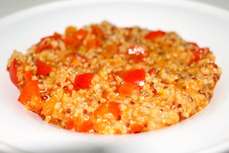 Recette quinoa poivrons tomate dine move - Comment cuisiner le quinoa recettes ...