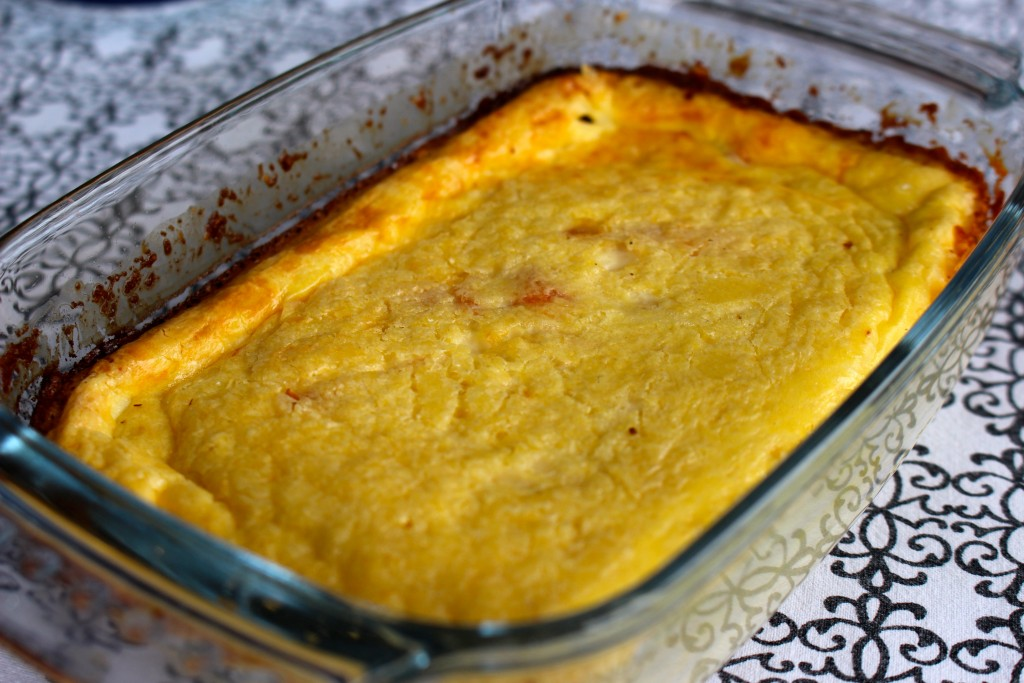 Clafoutis au saumon Weight Watchers