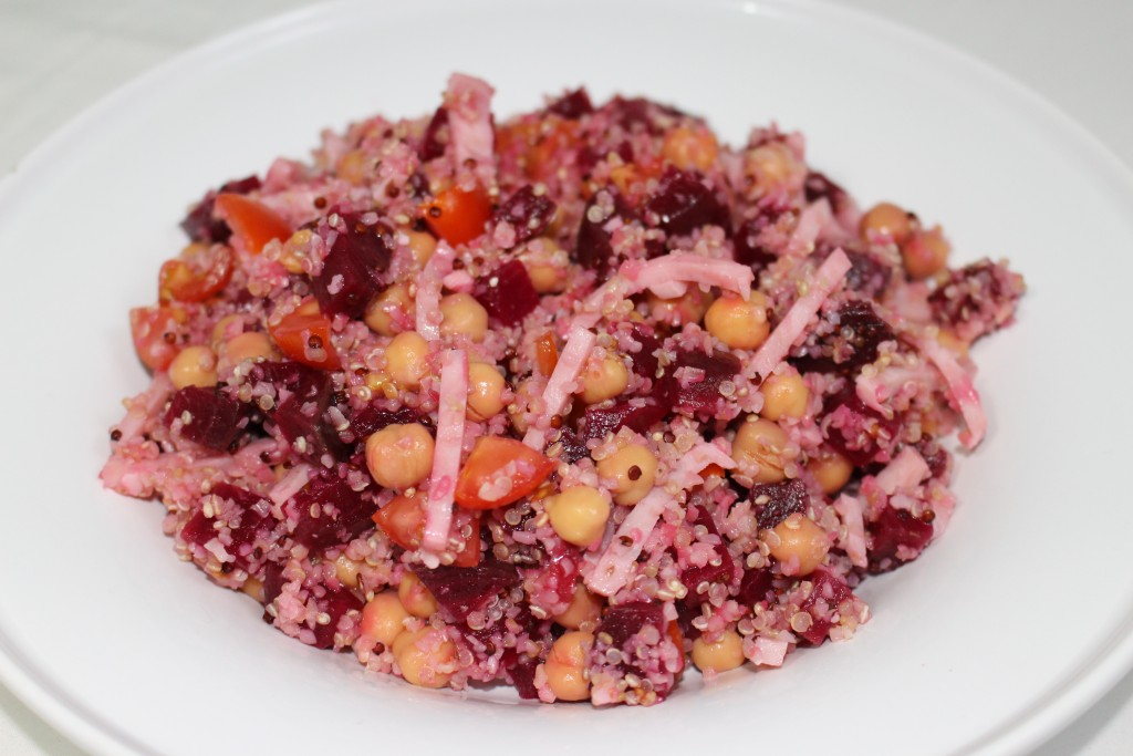 Quinoa à la betterave
