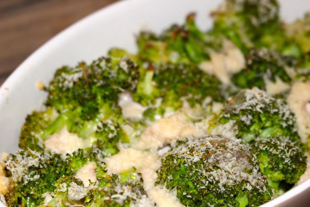 Poulet brocolis au parmesan