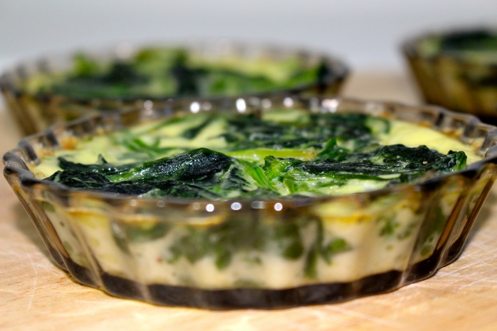 Quiche aux épinards Weight Watchers