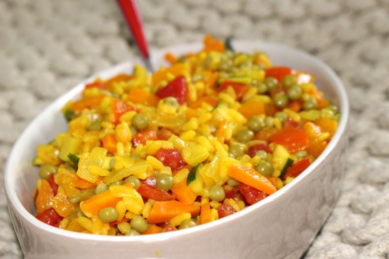 Recette de paella v g tarienne weight watchers dine move blog sport cuisine healthy - Blog cuisine weight watchers ...
