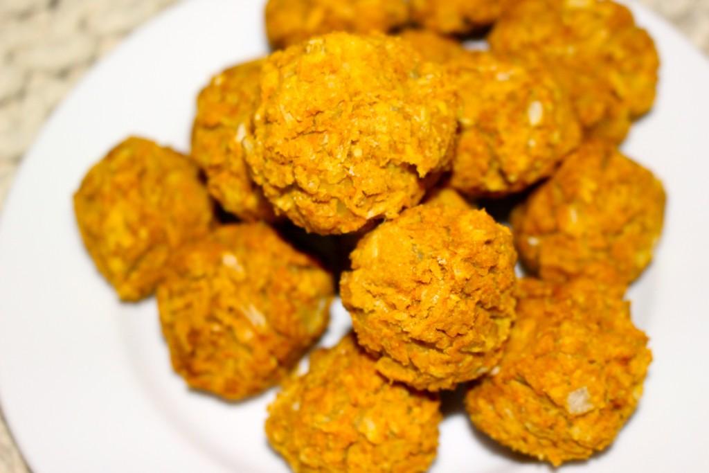 Falafels pois chiche et patate douce (recette vegane)