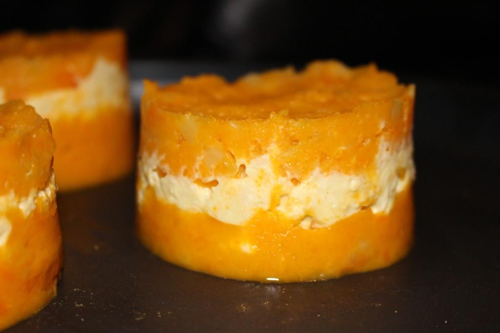 Recette de hachis parmentier la patate douce et au poulet dine move - Recette poulet patate douce ...