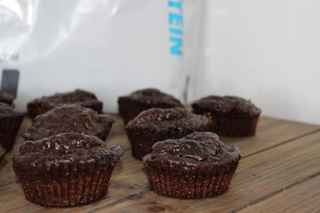 Muffins à la Whey MyProtein