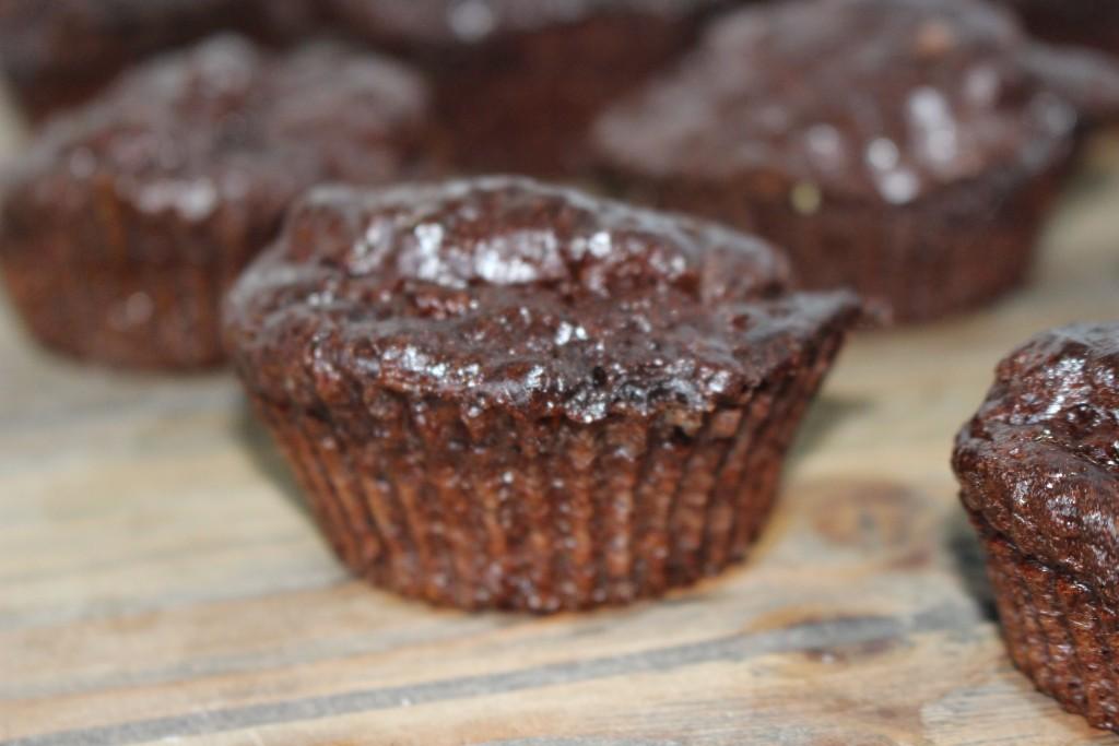 Muffins au chocolat protéinés à la Whey