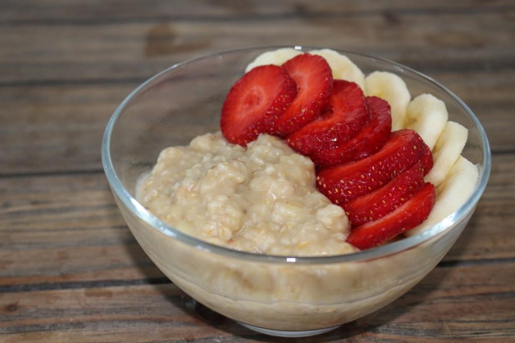 Porridge au beurre de cacahuètes MyProtein