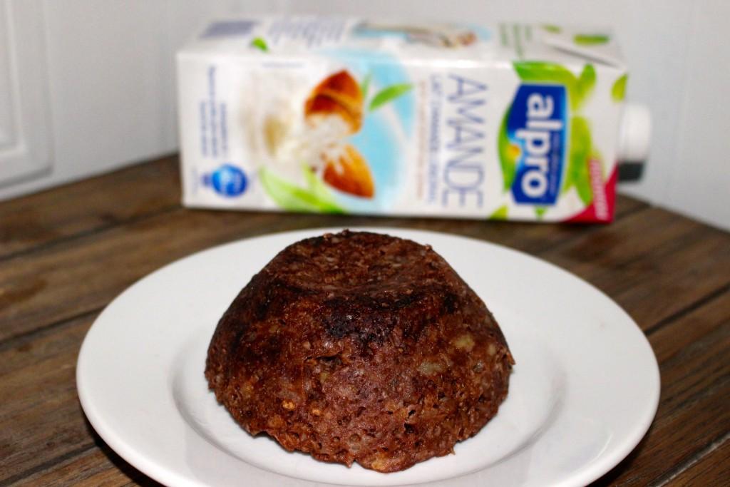 Bowlcake chocolat amandes et banane