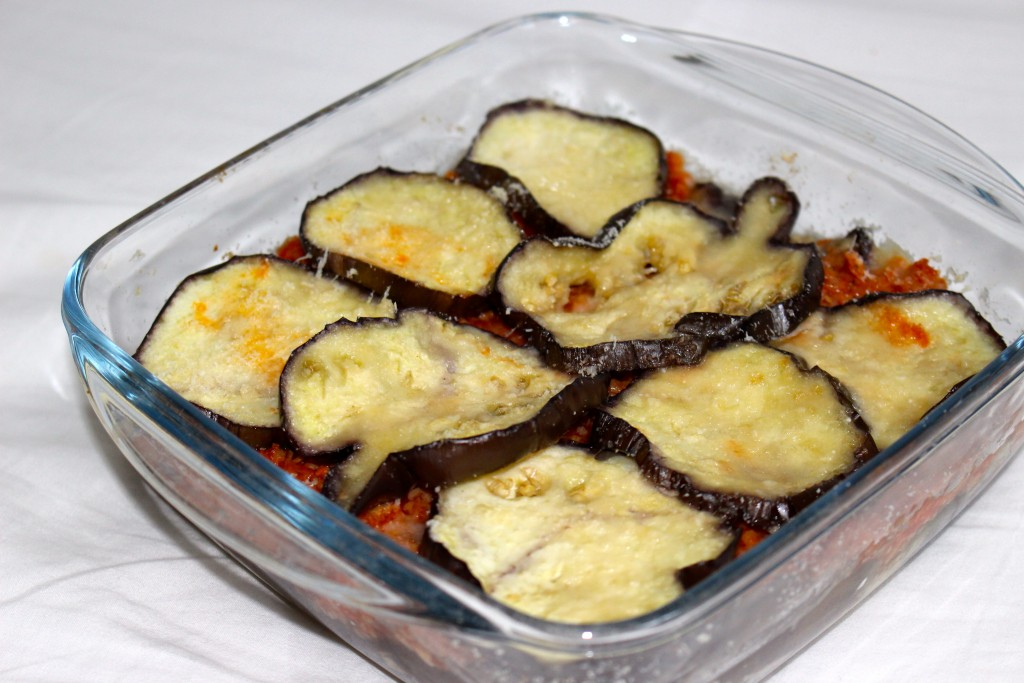 Gratin végétarien d'aubergines
