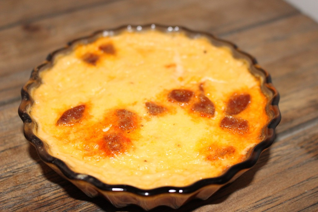 Mini quiche au chorizo