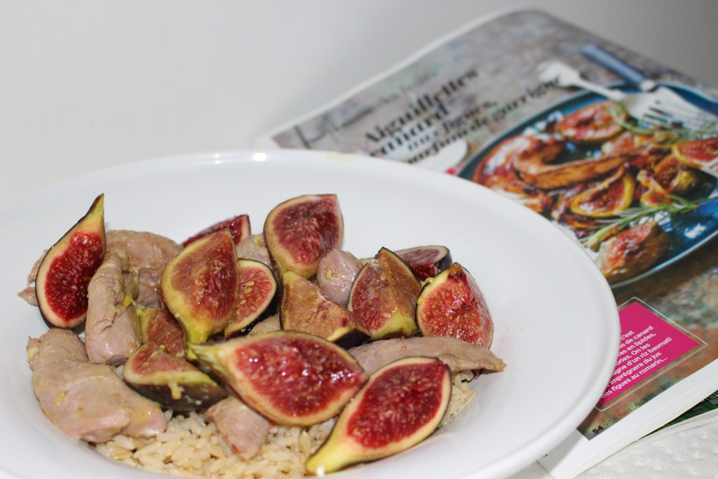 Canard aux figues Weight Watchers