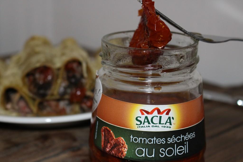 Tomates séchées Sacla Degustabox