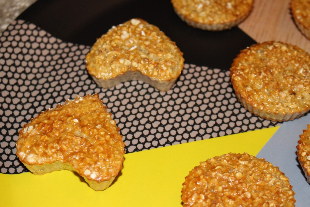 Muffins natures aux flocons d'avoine