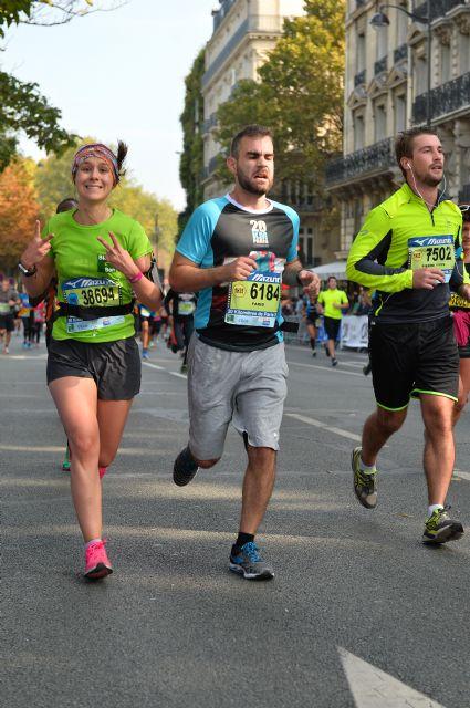 Mon compte rendu des 20 km de Paris