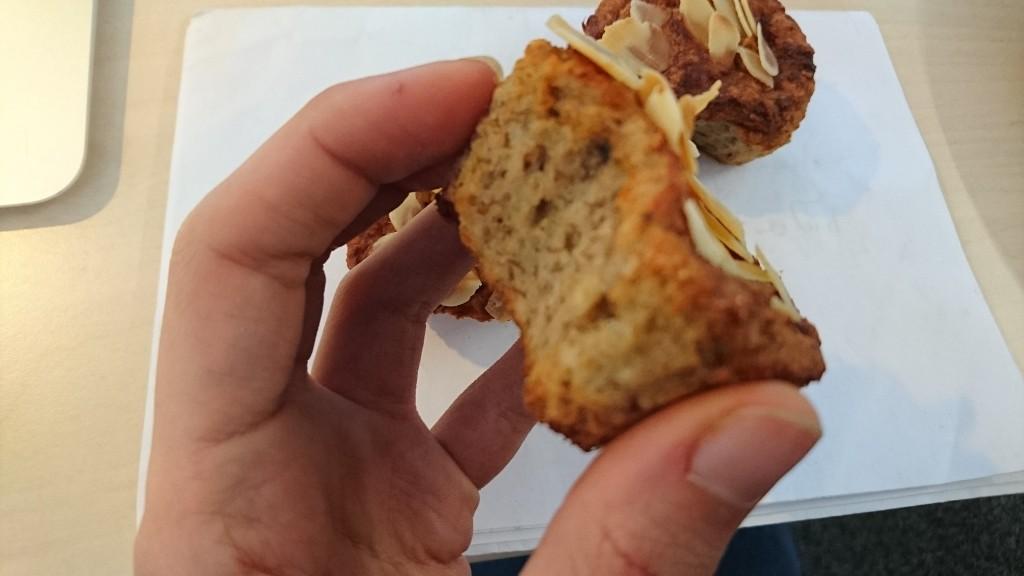 Muffins light à l'amande