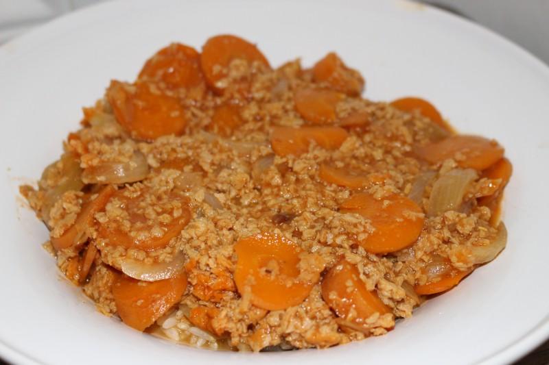 """Partager la publication """"Mafé végétarien aux carottes (plat malien ..."""