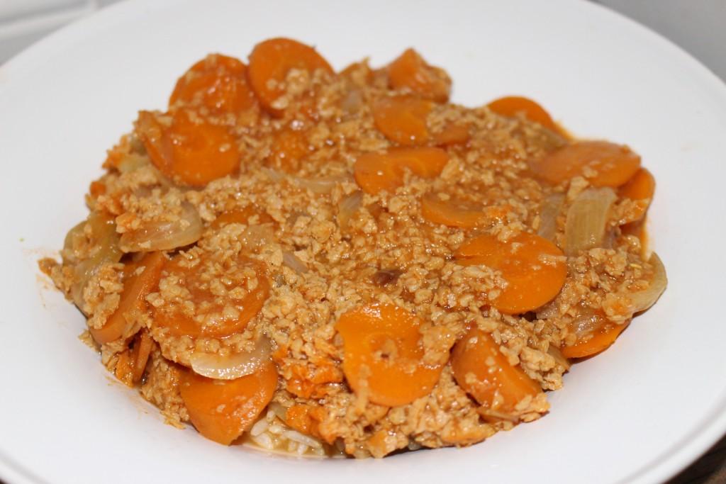 Mafé aux carottes