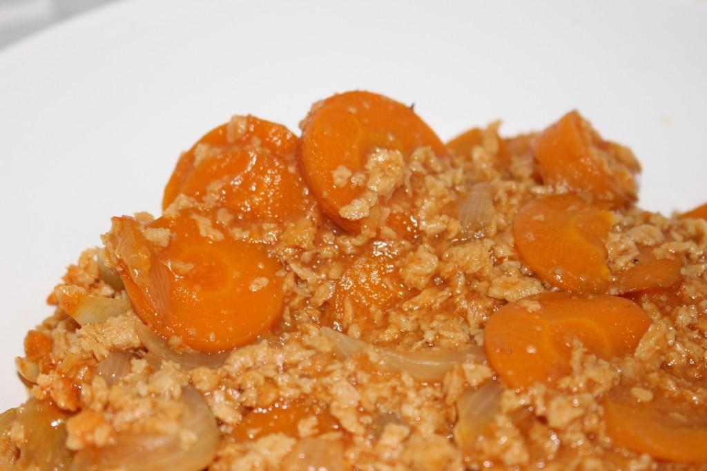 Mafé aux protéines de soja texturé
