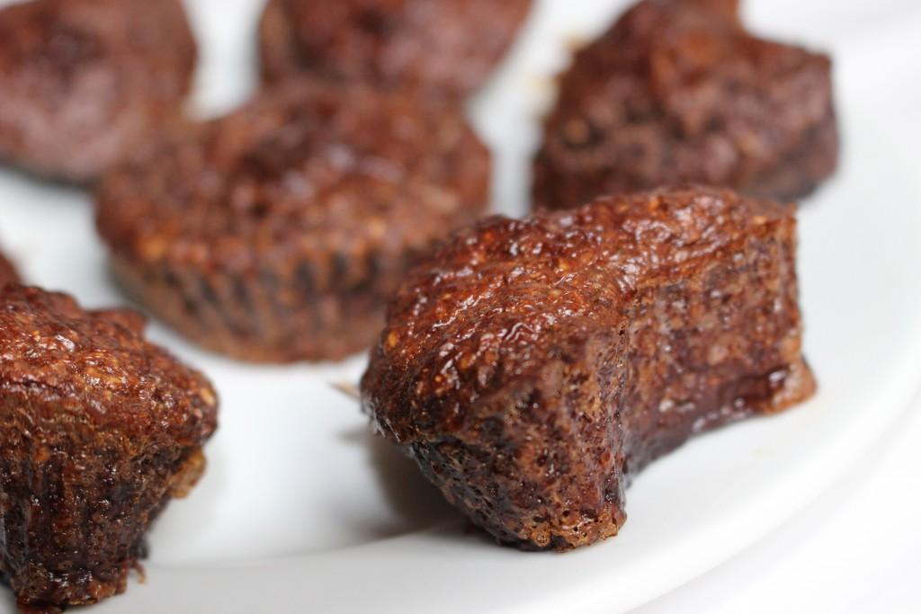 Muffins au chocolat au coeur coulant crunchy